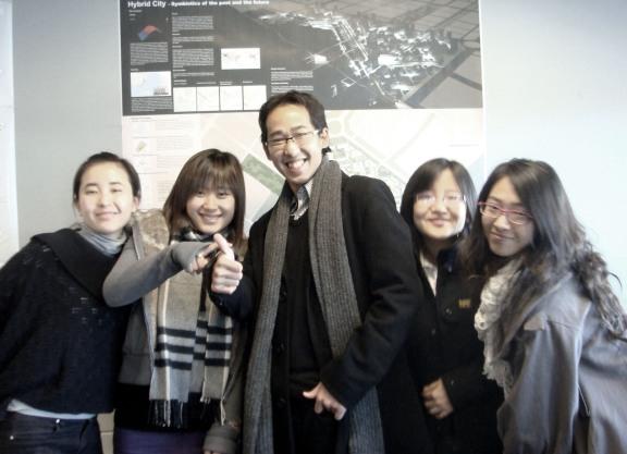Bronze Prize winner, South Korea - Hybrid City, Ubiquitous Community+Ecology