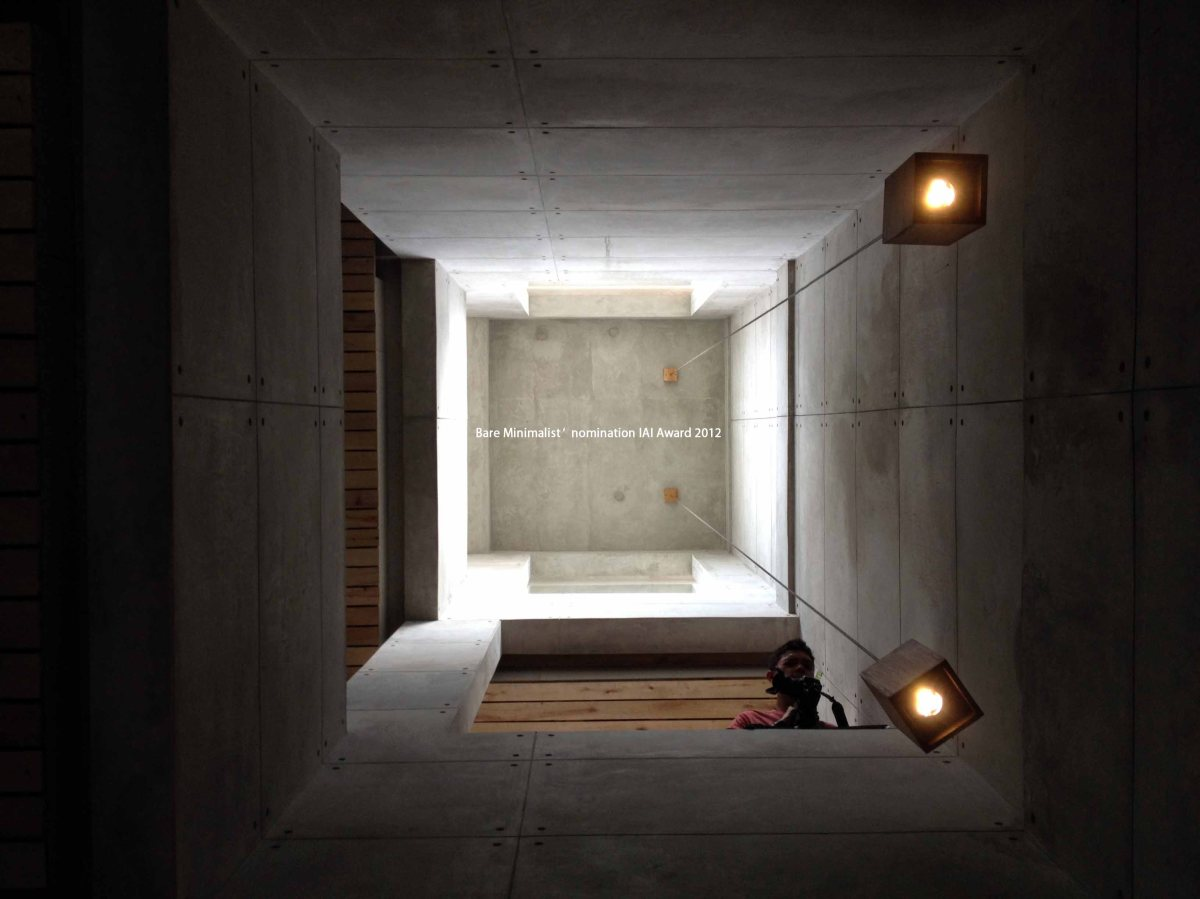 The Bare Minimalist Residence, … Bioclimatic house