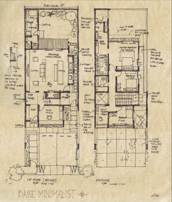 Plan of the House