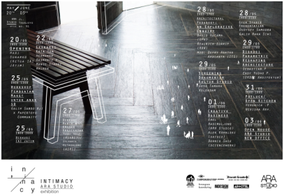 The Poster of Intimacy Exhibition