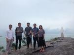 diskusi di Arum Dalu Resort dengan Albert Pramono, Kengo Kuma, Hasegawa, Yerim Yang