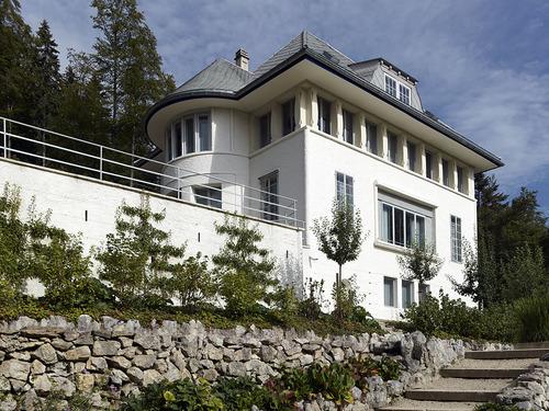 1912 - Villa Jeanneret-Perret, aka Maison Blanche, aka the White House, 12 Chemin de Pouillerel, La Chaux-de-Fonds, Switzerland.