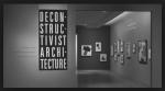 Philip Jonshon + Mark Wigley - Deconstructivist Architecture entrance