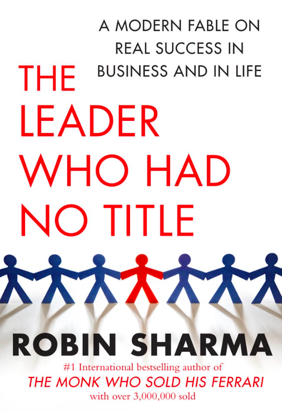 Cover book for Robin Sharma's The leader who Had no Title