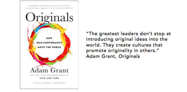 Originals written by Adam Grant